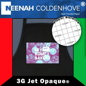 Neenah 3g Jet Opaque Heat Transfer Paper For Dark Colors 8 5 x11 50 Sheets