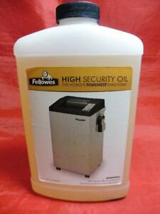 Fellowes High Security Oil Crc35058 For The Worlds Toughest Shredders 3505801