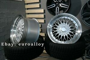 New 18 Inch 5x112 Et30 Forzza Rims For Mercedes Audi Alloy Wheel Bbs Rs Style