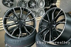 4x 20 Inch 5x120 Styling 742 Concave Wheels For Bmw 3 4 5 E46 E90 F30 F32 F10
