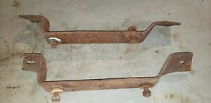 1969 Dodge Charger Rear Bumper Brackets Bolts Oem Very Nice R t 500 68 69 70 A