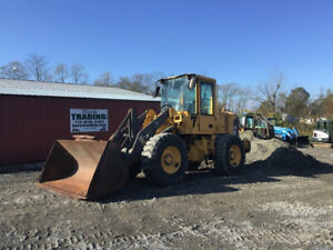2006 Volvo L50e 4x4 Compact Wheel Loader W Cab Coupler Only 7800 Hours