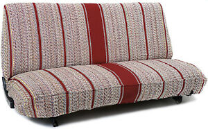 Truck Pickup Suv Car Saddle Blanket Bench Seat Cover Chevrolet Dodge Ford Red