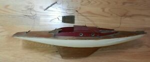 Vintage Wooden Pond Yacht 24 Long