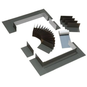 Aluminium Flashing Kit With Underlayment For Curb Mount Shingle Roof Skylights