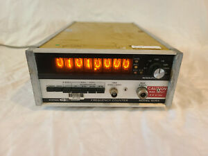 Systron Donner 6053 Frequency Counter To 3 Ghz Tested