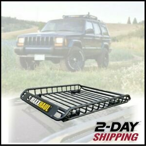 Universal Roof Rack Basket Car Truck Luggage Carrier Cargo Holder Travel Storage