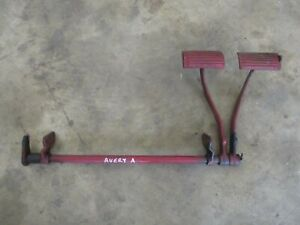 Bf Avery A Original Brake Pedals Assembly Antique Tractor