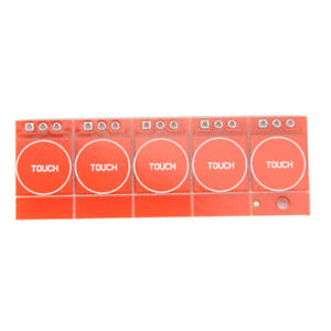 1pcs Ttp223 Capacitive Touch Switch Button Self lock Module For Arduino K Se W4