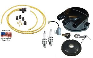 Complete Distributor Ignition Tune Up Kit John Deere 50 60 70 Tractor