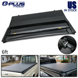 For 82 13 Ford Ranger 94 11 Mazda 6ft Bed Pickup Lock Tri fold Tonneau Cover