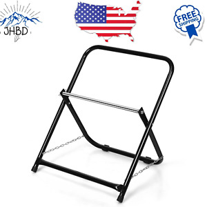 Steel Cable Caddy Cable Holder Single Axle Home Grade Wire Dispenser Black