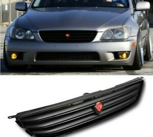 For 01 05 Lexus Is300 Altezza Grill Jdm Black Front Upper Grille