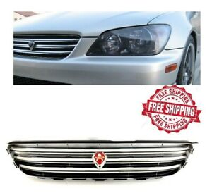 For 01 05 Lexus Is300 Altezza Grill Jdm Chrome Front Upper Grille