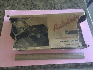 Nos Auto Tray Under Dash Box Only Vintage 40s 50s Gm Accessory Car Hop Drive In