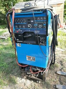 Miller Syncrowave 350 Lx Tig Welder With Welding Water Cooler