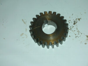 Atlas Craftsman 10 12 Inch Lathe Quick Change Gearbox 24 Tooth Gear 10 1519 Used