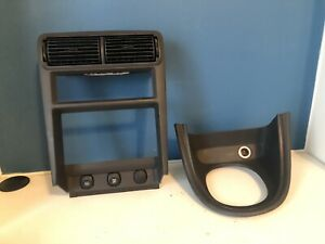 Ford Mustang Radio Shifter Bezel Double Din Trim Gt Cobra 99 04 Black