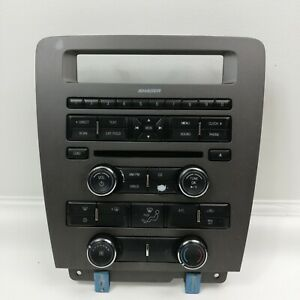 Ford 2011 2014 Mustang Radio And Climate Control Panel Bezel Part Cr3t 18a802 Ja