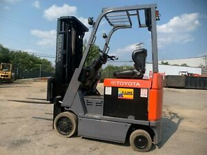 2013 Toyota 3000 Budget Forklift small Chassis we Will Ship ready To Go To Work