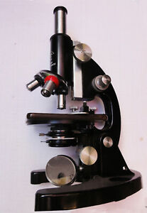 Tiyoda Vintage Compound Microscope Model 38816