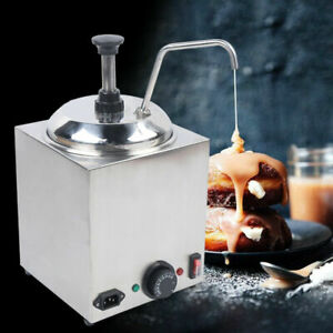 2 5l Electric Stainless Nacho Cheese Warmer Hot Melted Butter Dispenser Pump