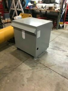 Used Acme Electrical Step Up Transformer 240 Volt 3 Phase To 480 Volt 3 Phase