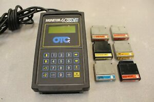 Otc Monitor 4000e Diagnostic System Scan Tool And 6 Cartridges