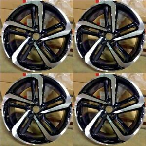19 2018 Sport Style Wheels Rims Fits Honda Accord Sport Civic Si Exl Set Of 4