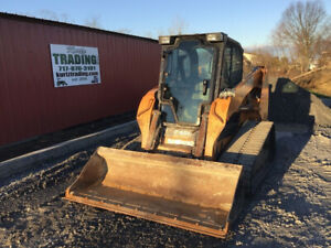 2013 Case Tr320 Compact Track Skid Steer Loader W Cab Only 3200 Hours