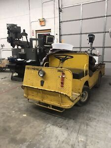 Used Taylor Dunn Industrial Flatbed Electric Utility Cart Maybe B2 48 B248