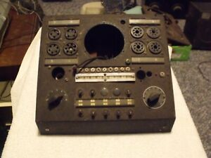 Very Old Hickok Tube Tester For Parts Or Repair