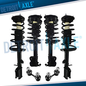 Toyota Corolla Chevy Geo Prizm Struts Assembly Sway Bar Links All 4 Front Rear