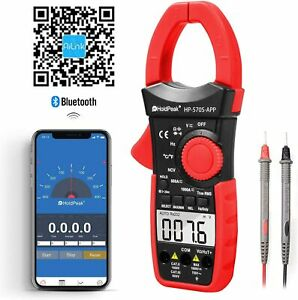 Clamp Meter Digital Multimeter Dc Current 6000 Counts Ac dc Volt 1000a Truerms