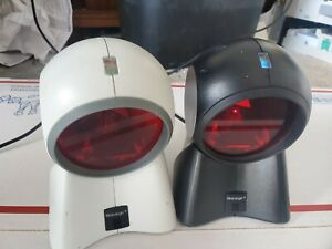 Lot Of 2 Metrologic Orbit Barcode Scanner Ms 7120