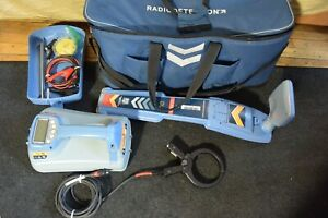 Radiodetection Locator Set Modei Rd7100 Dl Locator Wand And Tx5 Transmitter