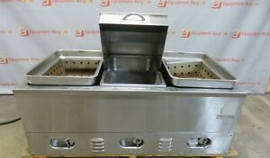 Crown Verity Cv 3whs Electric Double Hot Dog Steamer 3 Bay Steam Table 240v