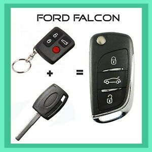 Ford Falcon Remote Flip Key All In One