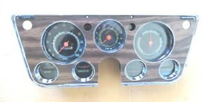 Restored Gauge Cluster 67 68 69 70 71 72 Chevy Gmc Truck 5000 Rpm Tach Dash