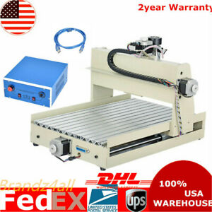 Usb 3 Axis Cnc 3040 Router Engraver 400w Desktop Engraving Drilling Machine