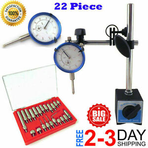 Starrett Dial Indicator Set Test 001 With On off Magnetic Base Supply