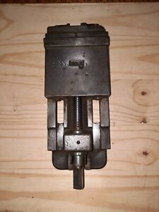 Vintage Machine Vise Drill Press Vise Small 2 Inch Capacity