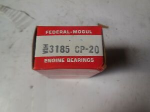Federal Mogul Engine Bearings 3185 Cp 20 New Pack Of 2