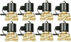 V Air Ride Suspension Valves Airbagit 8 New 1 2 npt Brass Fast Fbss Bag System