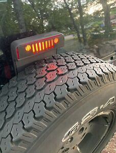 Third Brake Light Cover For Jeep Wrangler 1987 2017 Lamp Accessories