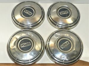 Four 4 Vintage 1967 72 10 Ford Ford Pick Up Truck Van Dog Dish Hubcaps