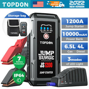 Portable Booster Car Power Bank Vehicle Emergency Jump Starter Battery Charger