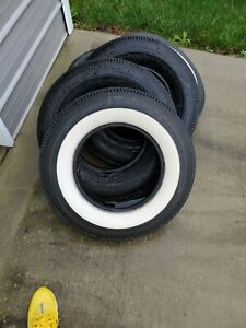 Bf Goodrich 670 15 4ply White Wall Classic Tires
