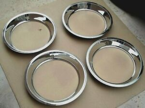 Restored 69 Camaro 70 74 Monte Carlo Factory Oem Trim Rings For Yh Rally Wheels