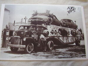 1948 Studebaker New Cars On Hauler 11 X 17 Photo Picture